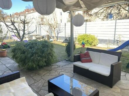 Mitten in der Stadt - Haus mit Garten