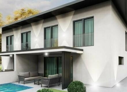 Neubau-Doppelhaushälfte mit Pool und Doppel-Carport in Epping/Buchkirchen
