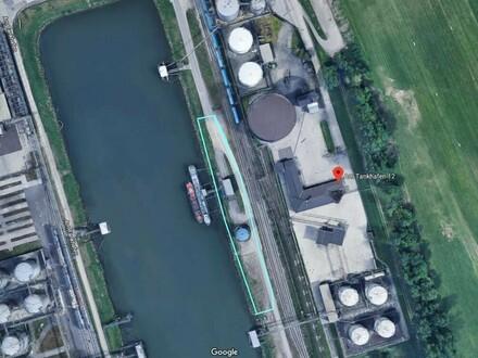 Tanklager im Hafen Linz zu verkaufen inkl. Schiffsanlegestelle 15.000 Euro !!!