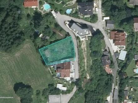 Grundstück ohne Bauzwang in Randlage - Hanglage