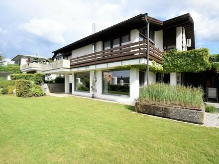 Wohnen und Arbeiten oder zwei Wohneinheiten unter einem Dach - Architektenhaus mit Donaublick in Mauthausen