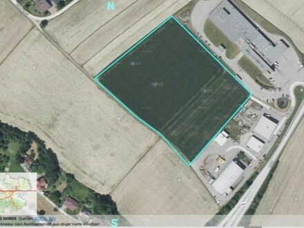 Betriebsbaugrund im Gewerbepark Wildenau/Aspach