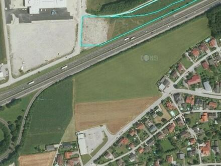 Betriebsbaugrund direkt an der Autobahn A 1