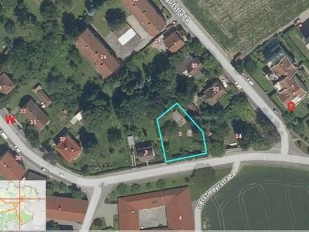 Grundstück für 5 oder mehr Wohungen nahe Zentrum Leonding oder für ein Eigenheim NEUER PREIS