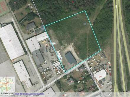 Grundstück mit B- Widmung nahe der B 1 Angebote bis 20.3. 2021 möglich.Auch für Logistiker