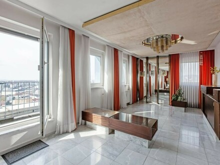 Penthouse im 19. Stockwerk - atemberaubender Ausblick!