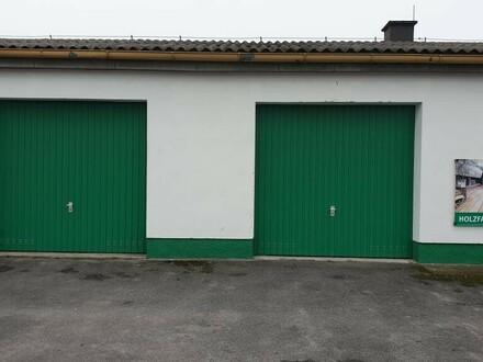 Günstige Garage oder Lager mit Strom