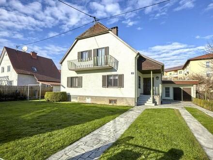 VERKAUFT ! Gepflegtes Einfamilienhaus in Leonding-Haag