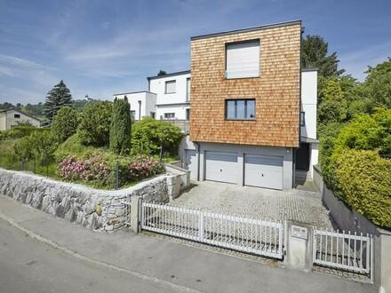 Traumwohnung in Zweifamilienhaus mit Blick über Linz!