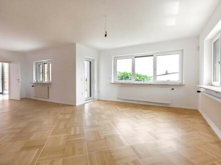 VERMIETET Traum-Wohnung in Einfamilienhaus mit Blick über Linz