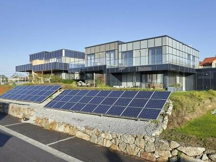 Hoch moderne, innovative, vermietete Doppelhaushälfte!