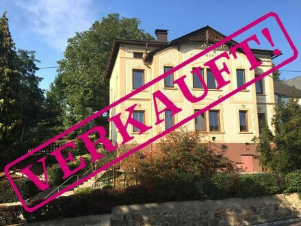 Gut erhaltene Jugendstilvilla - VERKAUFT