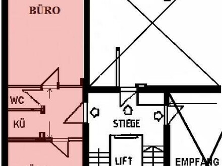 2 Raum Büro in zentraler Lage