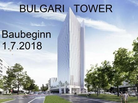 Büroflächen im Bulgari Tower am Bulgariplatz