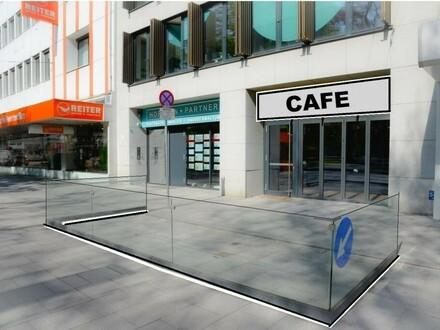CAFE VOLKSGARTEN - Frequenzlage