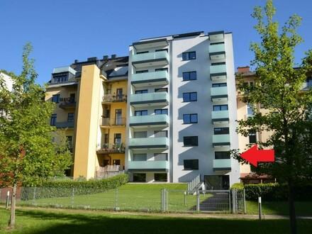 Moderne Wohnung mit Balkon, Loggia, Hausgarten