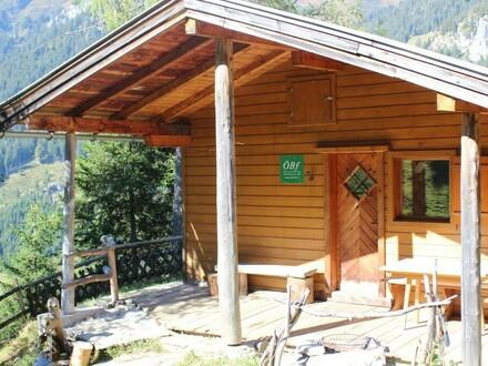 Hütte inmitten der Kitzbüheler Alpen