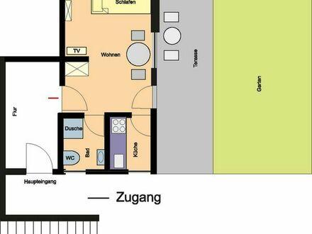 1 Zimmer all inclusive Wohnung