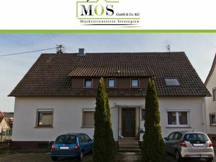 Schönes Zweifamilienhaus inmitten von Grün mit großem Garten in Straubenhardt