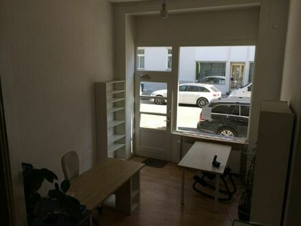 Arbeitsplatz in sonniger Bürogemeinschaft Westend