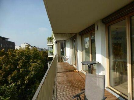Bild_Teilmöblierte neuwertige Wohnung, mit einem loftähnlichen, offenen Wohn- und Essbereich