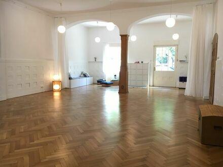 100 qm Yoga- und Seminarraum zur Vermietung