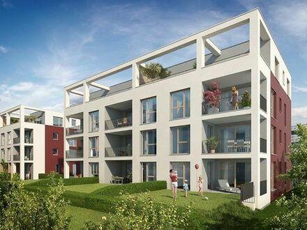 NEUBAU: Zentrumsnahe Penthouse-Wohnung (4-Zimmer) mit schönem Ausblick