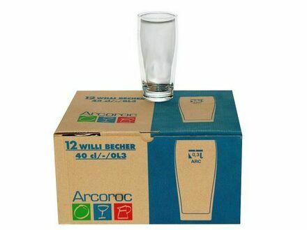 35 Biergläser Willi