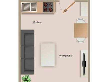 Gepflegtes 1-Zimmer-Apartment