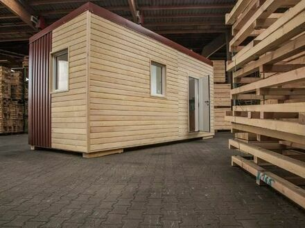 Wohncontainer (Mustercontainer) Holzständerbauweise zu verkaufen Preis: 12.500 EUR