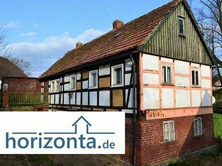 Fachwerkhaus mit Nebengelass bei Reichenbach/OL in ruhiger Randlage