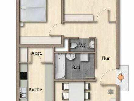 Vermiete helle 3 Zimmer Wohnung, 2 Balkone