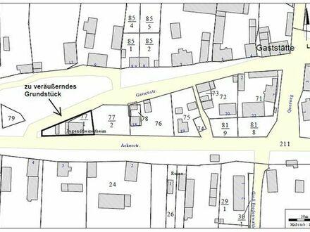 Dorfgemeinschaftshaus (ehemaliger Konsum/Jugendclub) im Ort Flieth