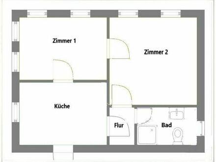Renovierte 2 Raumwohnung