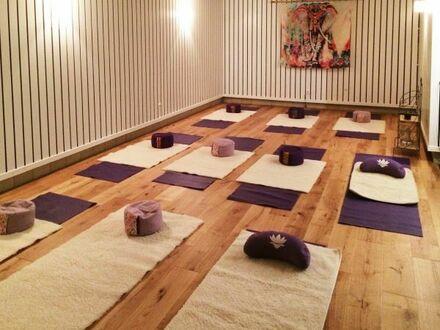 Raum Yogaraum Praxisraum Trainingsraum Düsseldorf Unterbach zur Mitnutzung