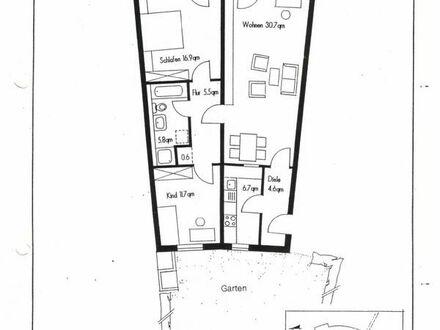 3-ZW in schöner Wohnanlage mit überdachter Terrasse und Grünbereich auf der Nord- und Südseite.