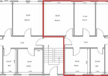 4-Zimmer Wohnung 78 qm in Harbke bei Helmstedt