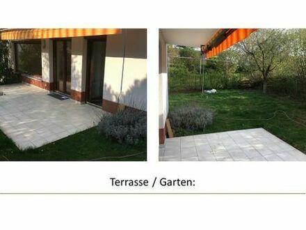 2ZKB + 1 Zimmer m. Gäste-WC in DHH mit Terrasse,Garten u. Garage