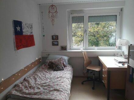 Ein WG Zimmer im Studentenwohnheim zur Zwischenmiete mit perfekter Lage