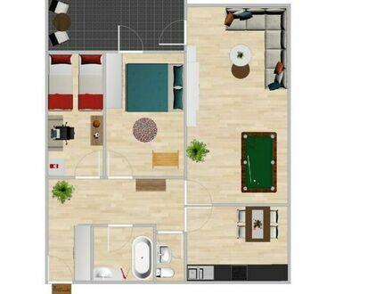 3 Zimmer Wohnung Limburgerhof ZENTRUM Barrierefrei mit Balkon & EBK