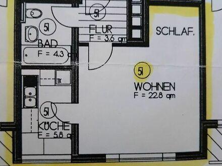 1 Zimmer Eigentumswohnung frei zur Selbstnutzung oder Kapitalanlage