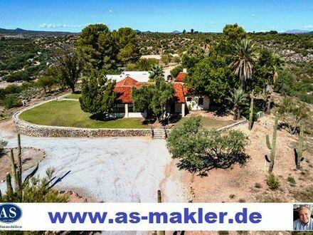 Super Anwesen (Ranch) auf 80.000 m2 Land (Bauland) günstig zu verkaufen!