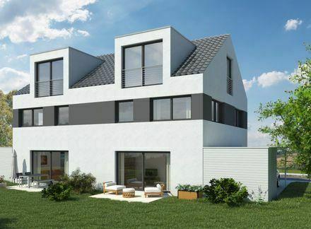 Walldorf Architekten Doppelhaushälfte in Top Lage