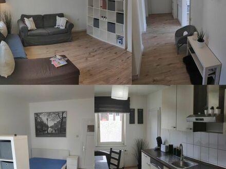 Schicke Altbauwohnung, möbliert und voll ausgestattet, WG-geeignet, Wlan inklusive