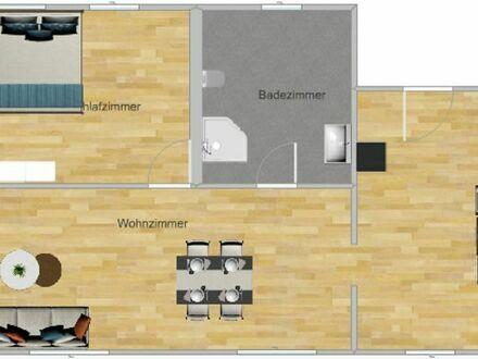 Komplett sanierte 2-Zimmer Wohnung in den Quadranten - inkl. neuer EBK