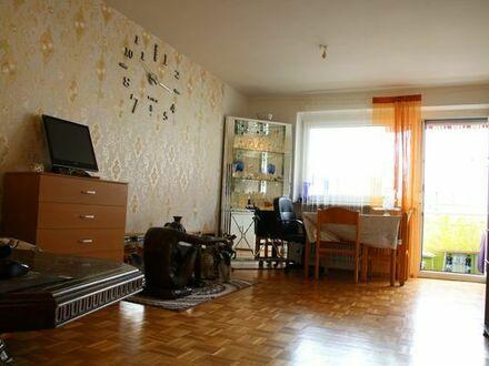 1-Zimmer-Appartament mit großem Balkon