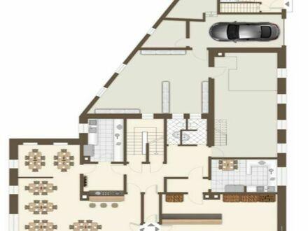 Vermiete 3,5 große Zimmer: Wohnen und Arbeiten, Atelier, Oberstadt, frisch renoviert