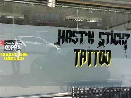Tattoo Studio bietet Raum zur Untermiete